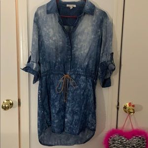 Forever 21 -denim dress